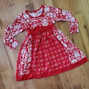 Jelly the Pug Christmas Dress